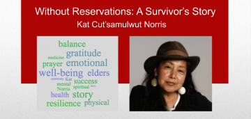 Without Reservation: A Survivor's Story, with Kat Norris