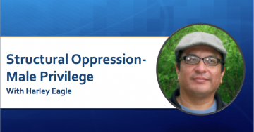 Structural Oppression, Male Privilege – with Harley Eagle