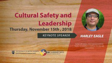 November 15th,2018 – Cultural Safety and Leadership