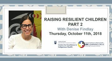 October 11th, 2018 – Raising Resilient Children with Denise Findlay Part 2