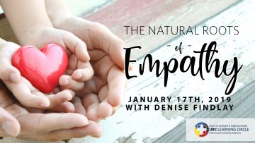 January 17th, 2019 – The Natural Roots of Empathy