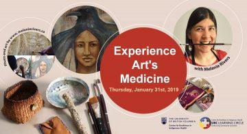 January 31, 2019 – Experience Art's Medicine