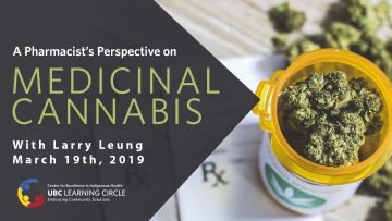 March 19, 2019 – A Pharmacist's Perspective on Medicinal Cannabis With Larry Leung