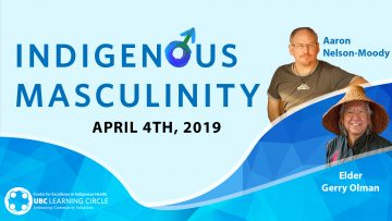 April 4th, 2019 – Indigenous Masculinity with Elder Gerry Oleman & Aaron Nelson-Moody