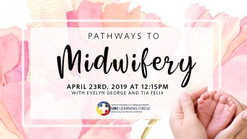 April 23rd, 2019 – Pathways to Midwifery with Evelyn George and Tia Felix