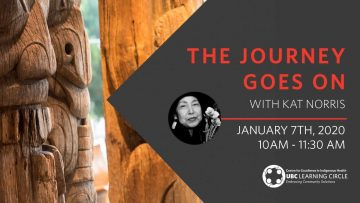 January 7th, 2020 – The Journey Goes On with Kat Norris